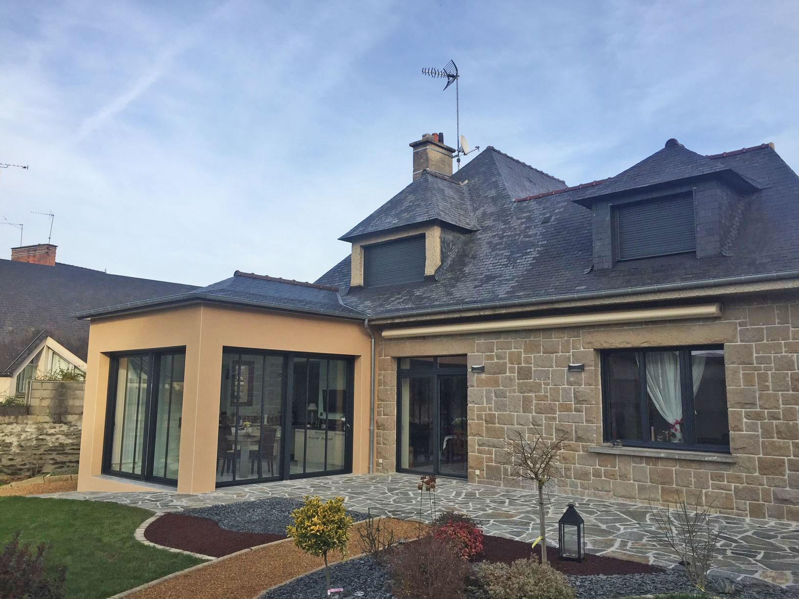 Extension d\'une maison traditionnelle (35500 – VITRÉ) – Archibel